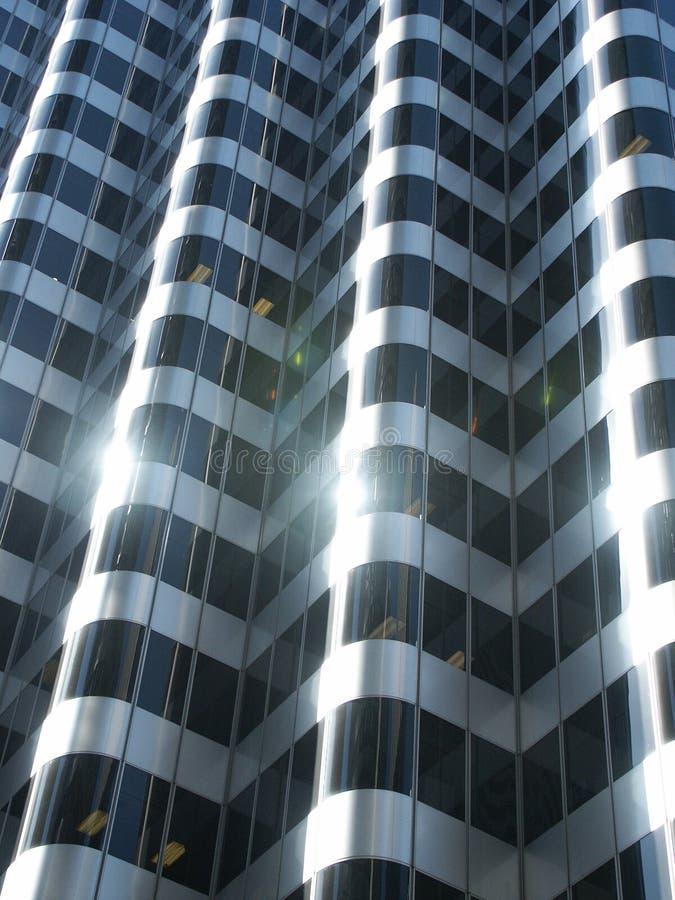 facadeexponeringsglas royaltyfri fotografi