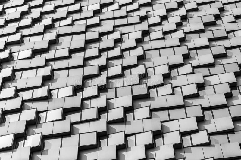 Facades of Beijing royalty free stock photography