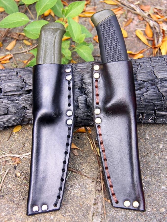 Facas do magnésio da tosquiadeira 860 e 510 de Mora imagem de stock royalty free