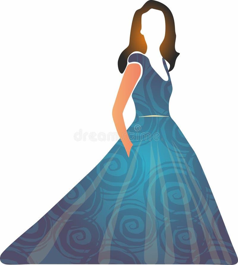 Faccia festa le icone dell'abito per i apps mobili di web e di concetto illustrazione vettoriale