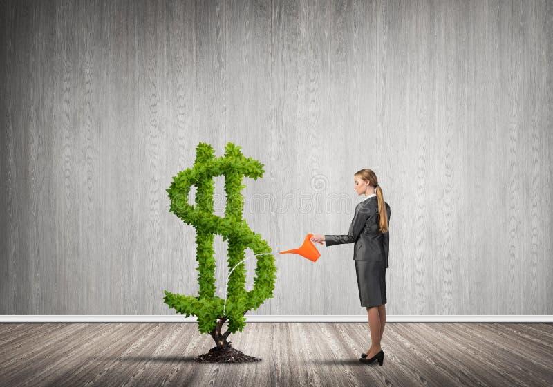 Faccia i vostri soldi svilupparsi royalty illustrazione gratis