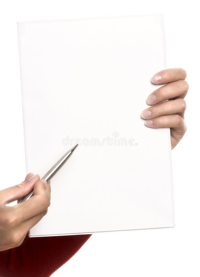 Faccia le vostre note fotografie stock libere da diritti