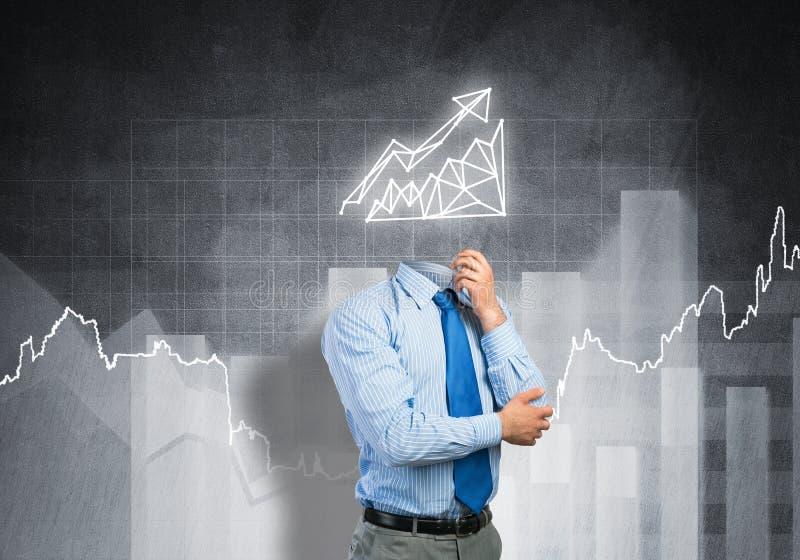Faccia le vostre vendite svilupparsi immagine stock