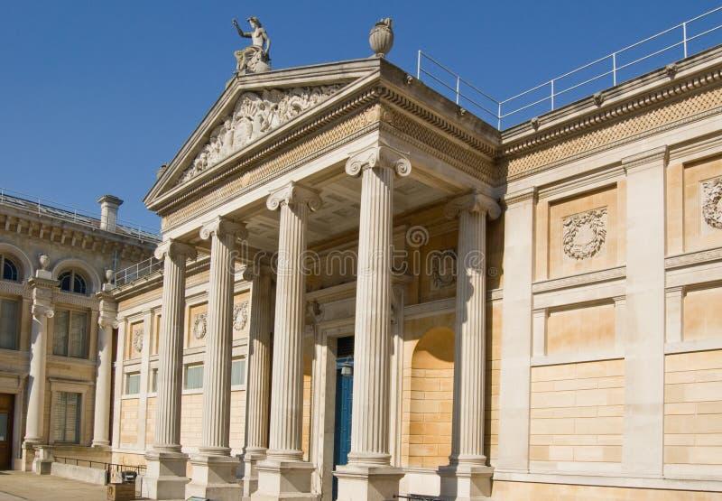 Facciata del museo di Ashmolean, Oxford fotografie stock