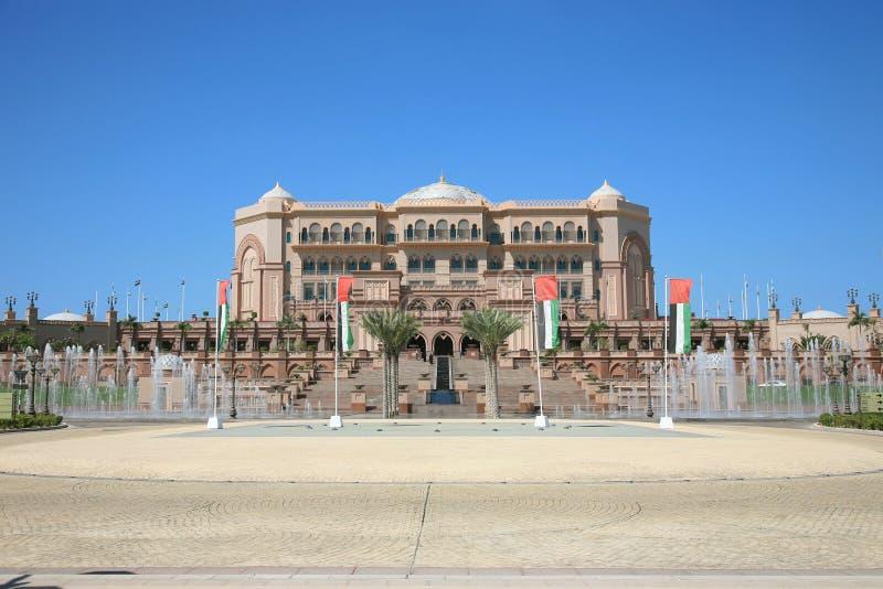 Facciata del palazzo degli emirati fotografie stock libere da diritti