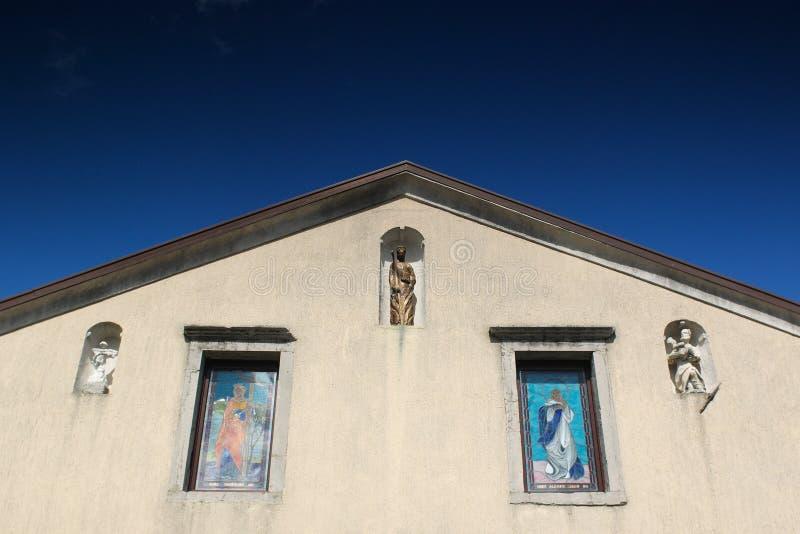 Facciata della chiesa immagine stock libera da diritti