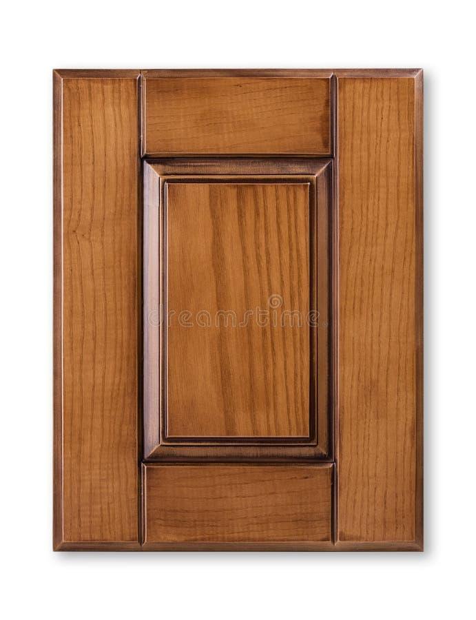 Facciata di legno della cucina fotografie stock