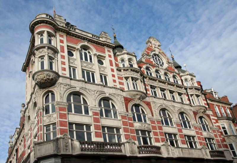 Facciata edificio di Londra fotografia stock