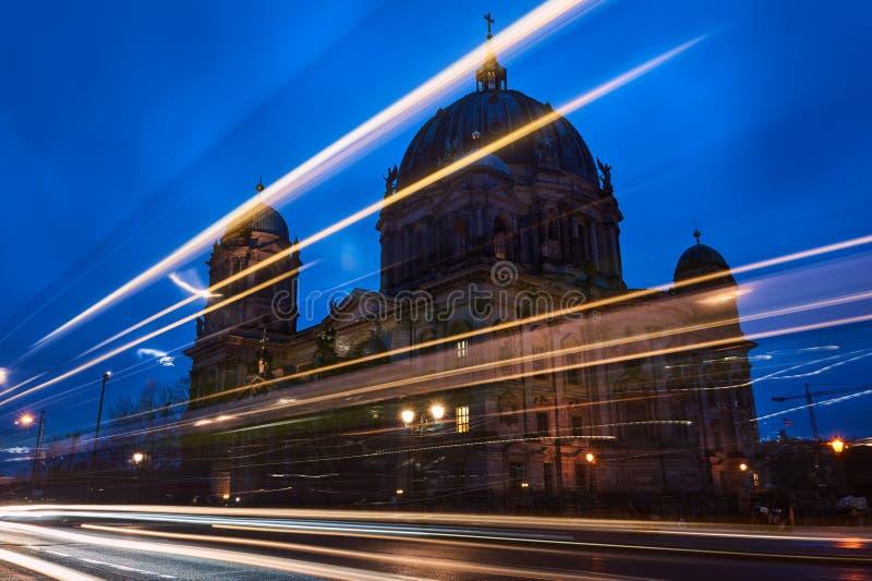 Facciata evangelica della cattedrale fotografie stock libere da diritti