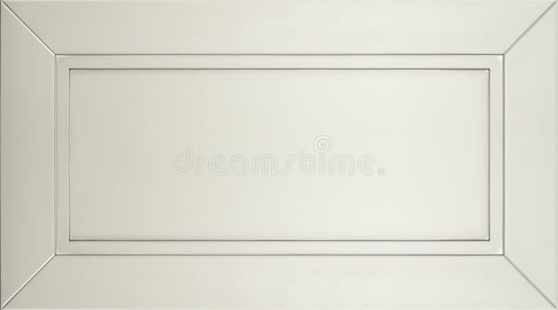 Facciata minimalistic per la cucina, interno della mobilia di concetto o del fondo della mobilia fotografie stock