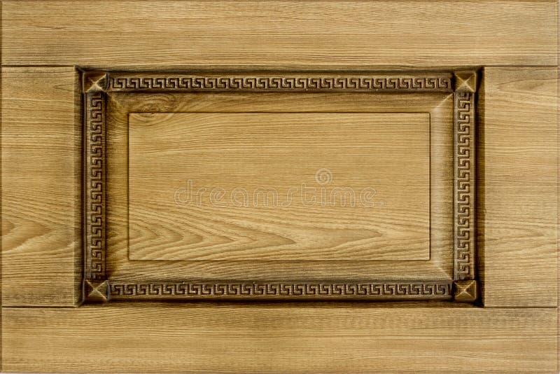 Facciata minimalistic per la cucina, interno della mobilia di concetto o del fondo della mobilia fotografie stock libere da diritti