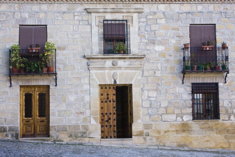 facciata rustica della casa fotografia stock immagine di