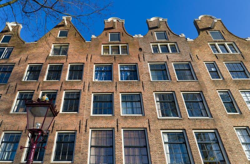 Case di Amsterdam immagini stock libere da diritti