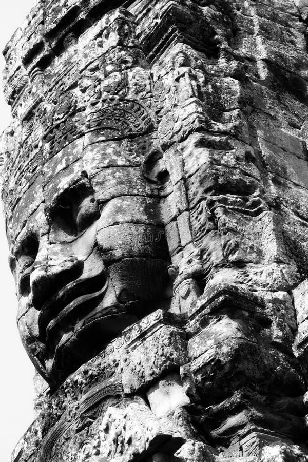 Face of Angkor Wat royalty free stock images