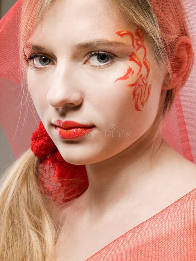 Face-arte da fantasia fotos de stock royalty free