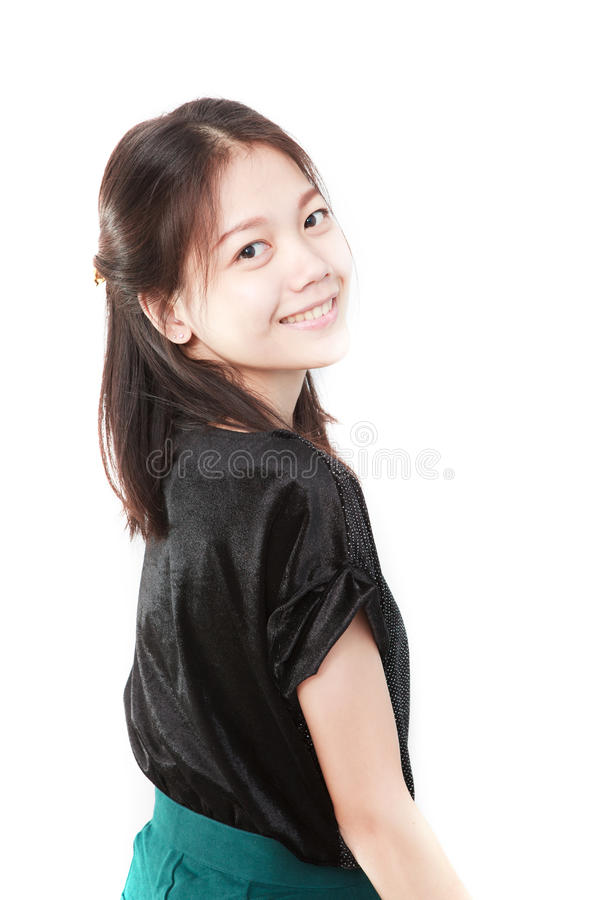 Download Face Of Asian Woman In Studio Light Stock Photos - Image: 26964213