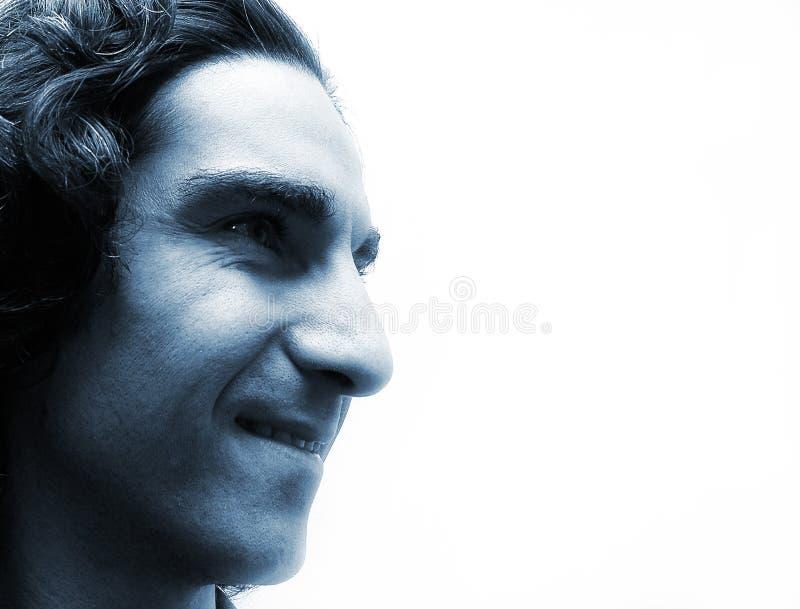 Face azul imagem de stock royalty free