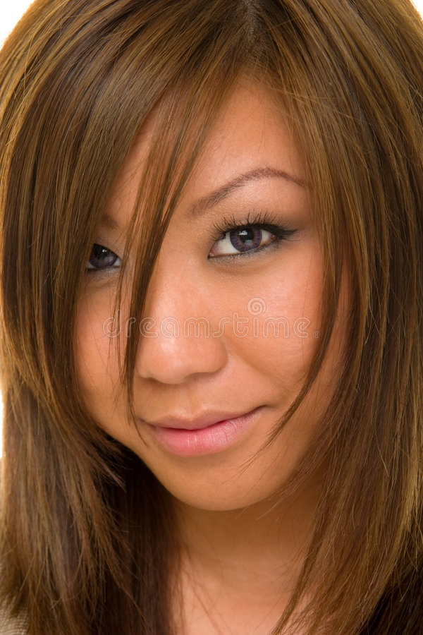 Face Of Beauty Dee stock images