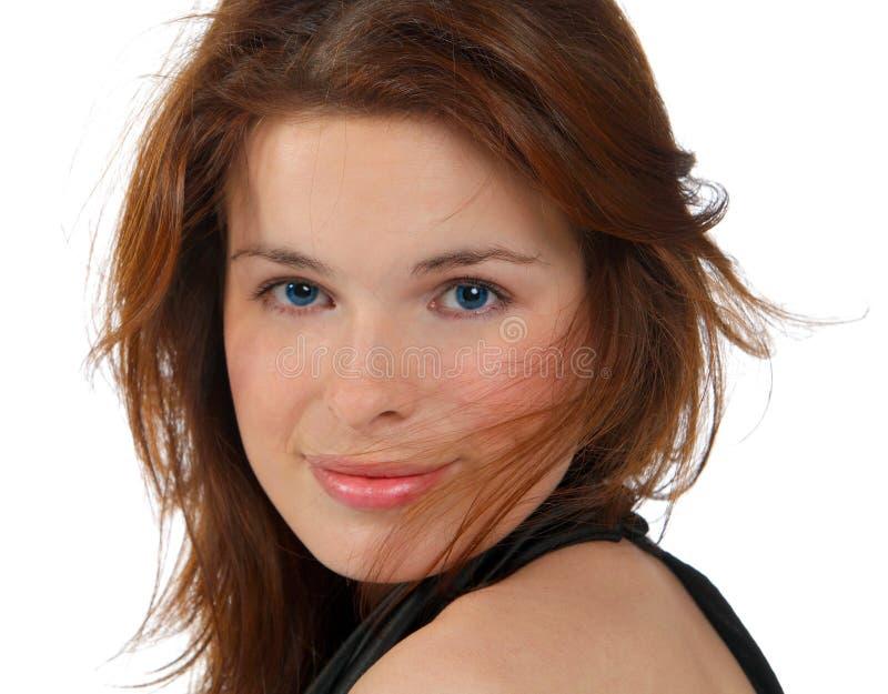 Face bonita da mulher foto de stock royalty free