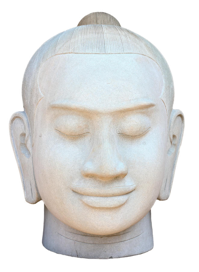 Download Face Of Buddha Sculpture Royalty Free Stock Images - Image: 30408089