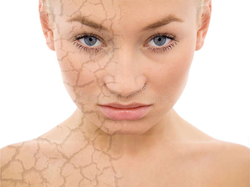 Face care royalty free stock photo