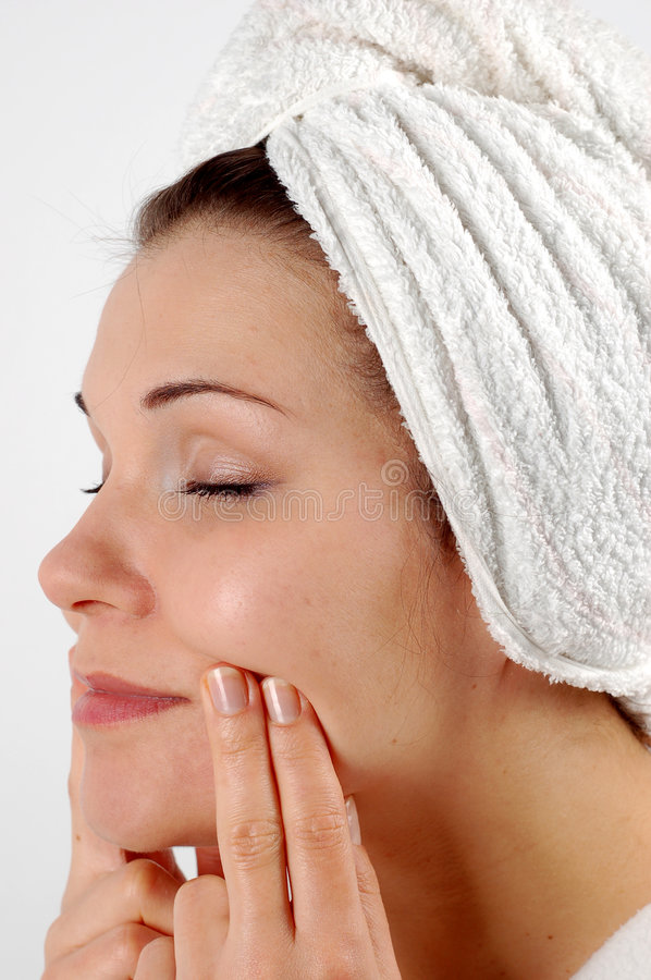 Face care #7 royalty free stock images