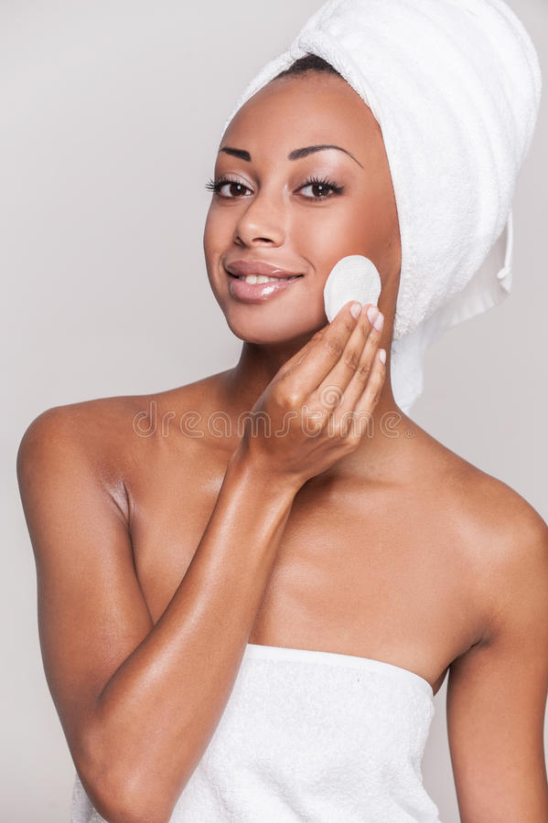 Face care. royalty free stock photos