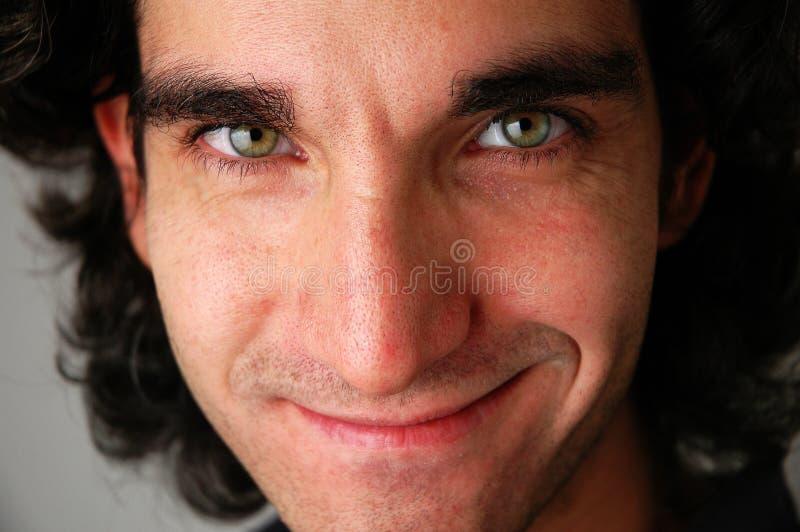 Face close-up-1 stock image