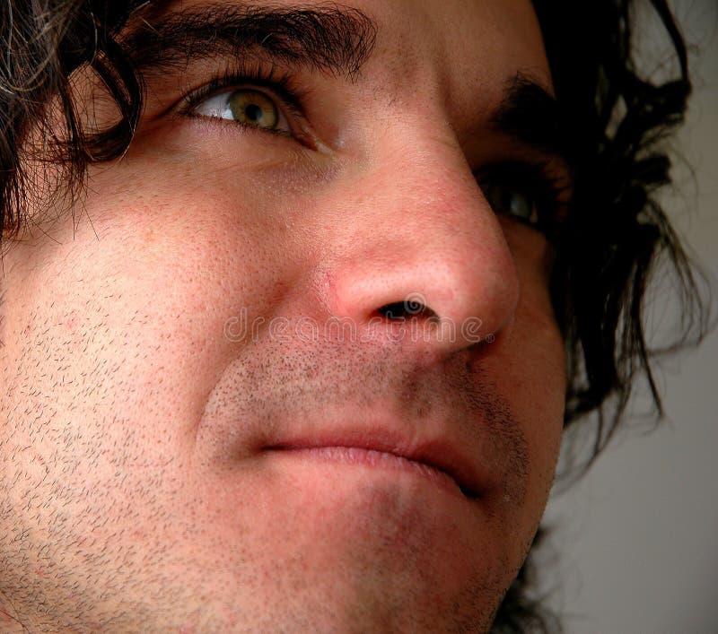 Face close up-4 royalty free stock photos