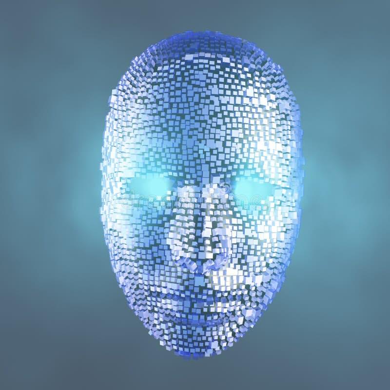 Face vector illustration