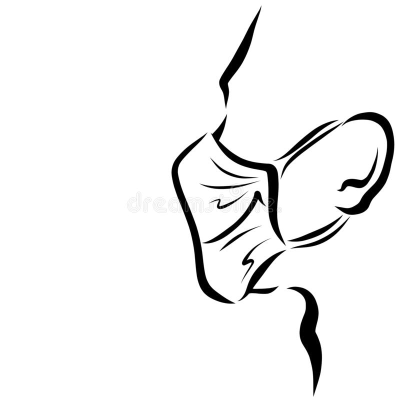Medical Face Mask, Pattern On A White Background Stock ...