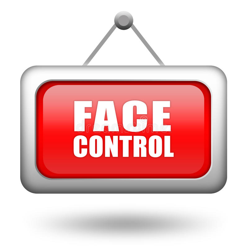 Download Face control stock illustration. Illustration of control - 20854491