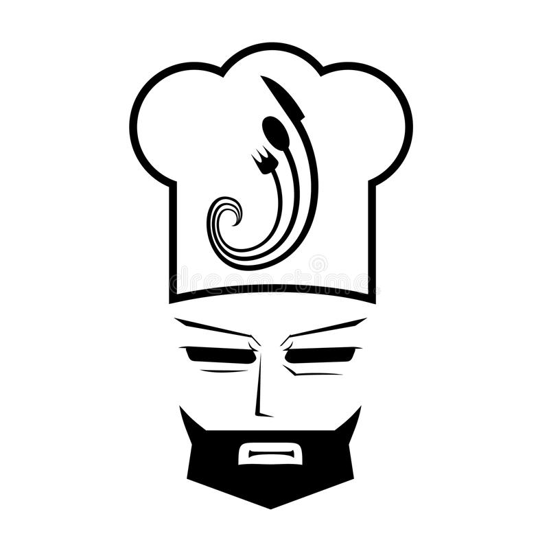 Face Cook Stock Images
