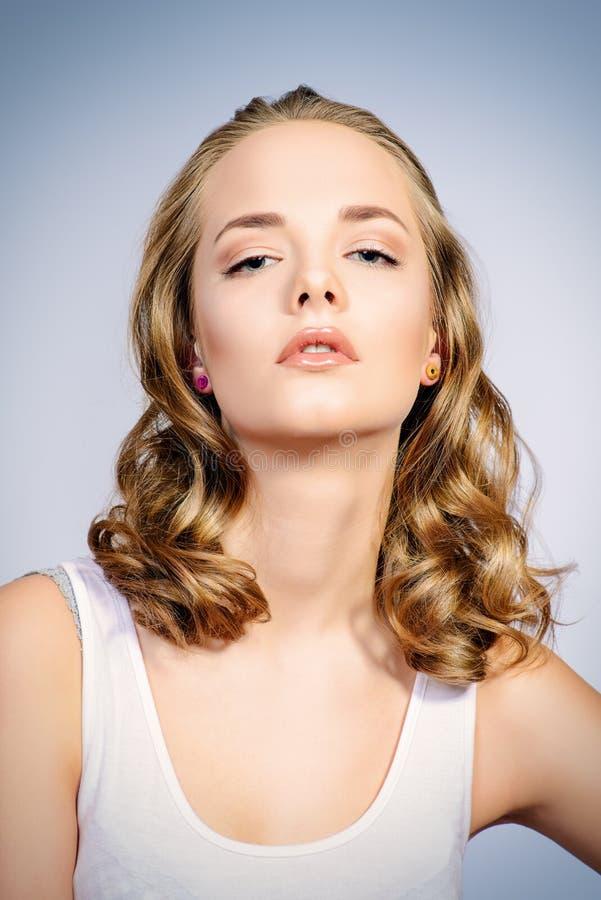 Face cosmetics stock image