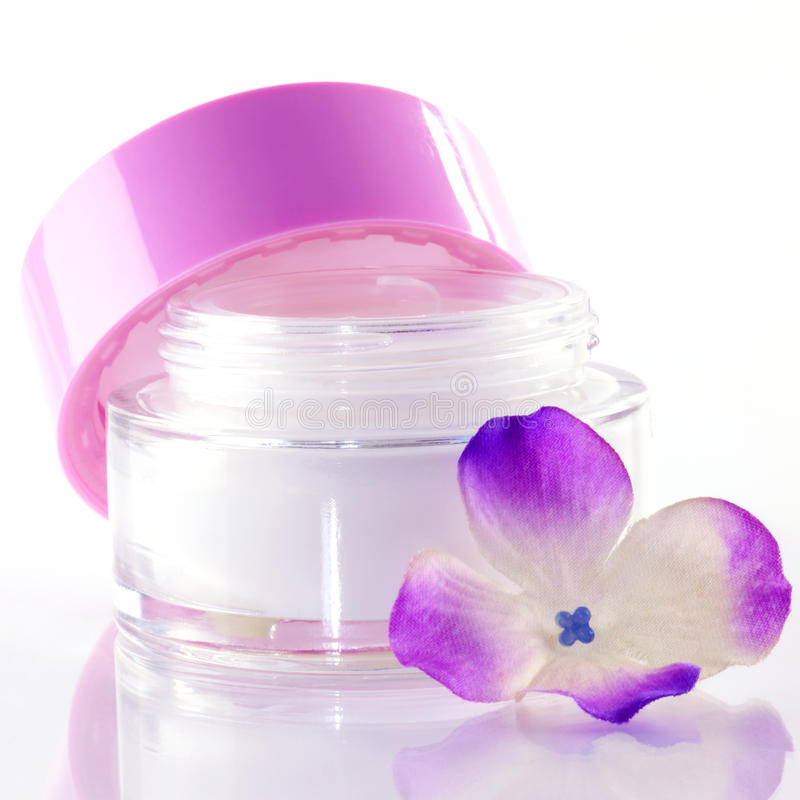 Face-cream royalty free stock images