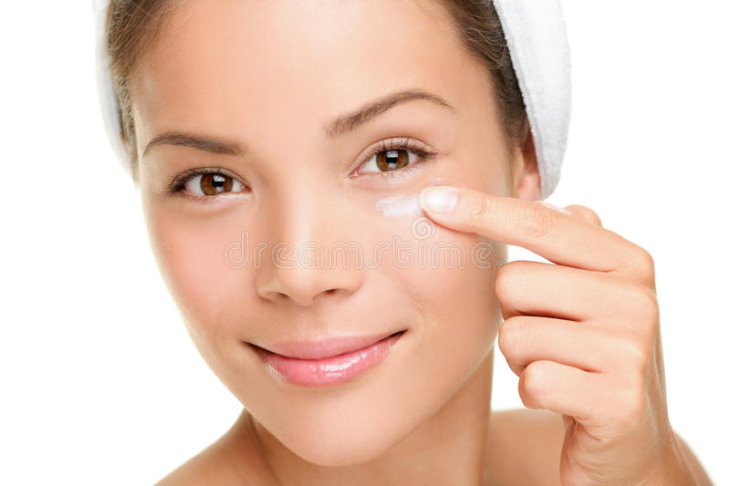 Download Face Cream Woman Stock Photography - Image: 28020702