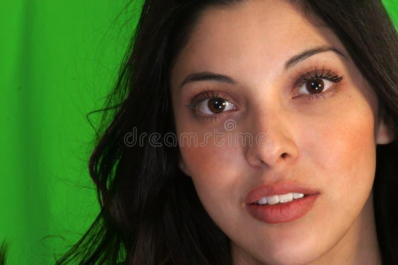 Face da beleza de Latina fotografia de stock royalty free