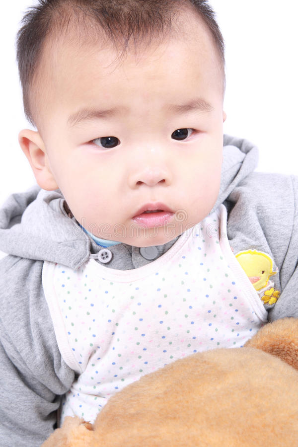 Face da criança fotografia de stock royalty free