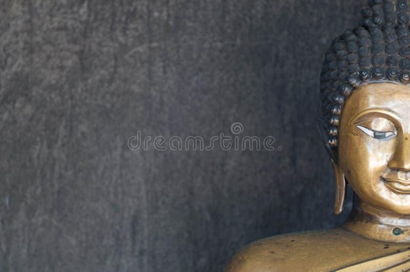 Face da imagem de buddha imagem de stock