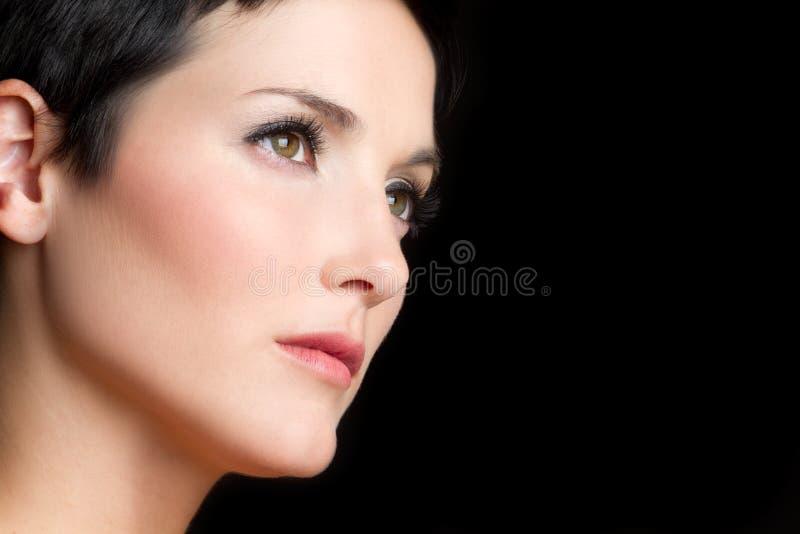 Face da mulher foto de stock royalty free