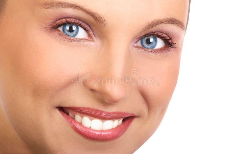 Face da mulher fotografia de stock