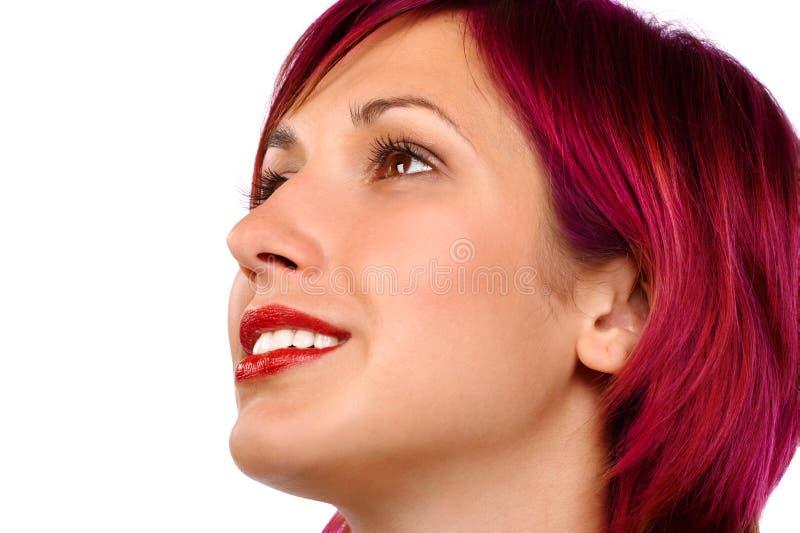 Face da mulher imagem de stock