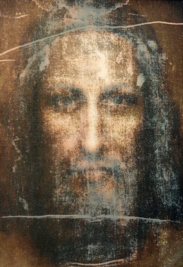 Face de christ imagens de stock