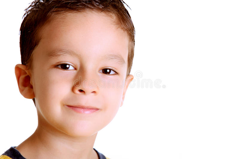 Face de sorriso imagens de stock