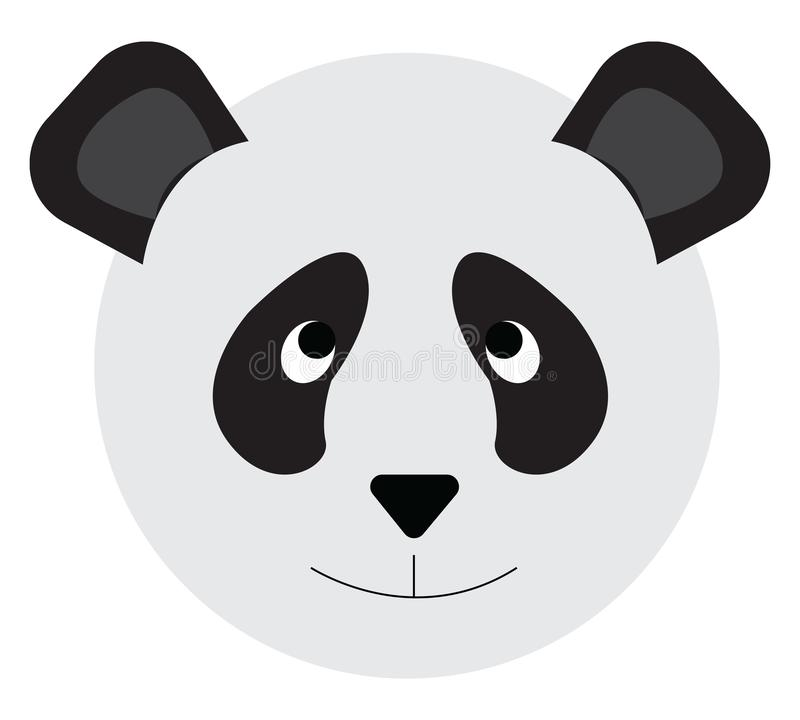 Panda Drawing Face Ilustracao Do Vetor Ilustracao De Animal
