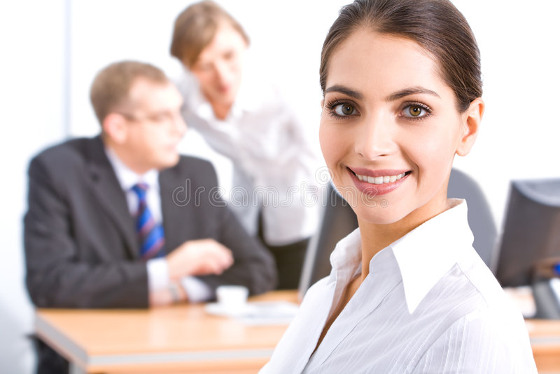 Face do empregado imagem de stock
