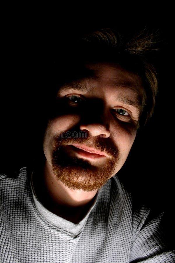 Face do homem fotos de stock royalty free