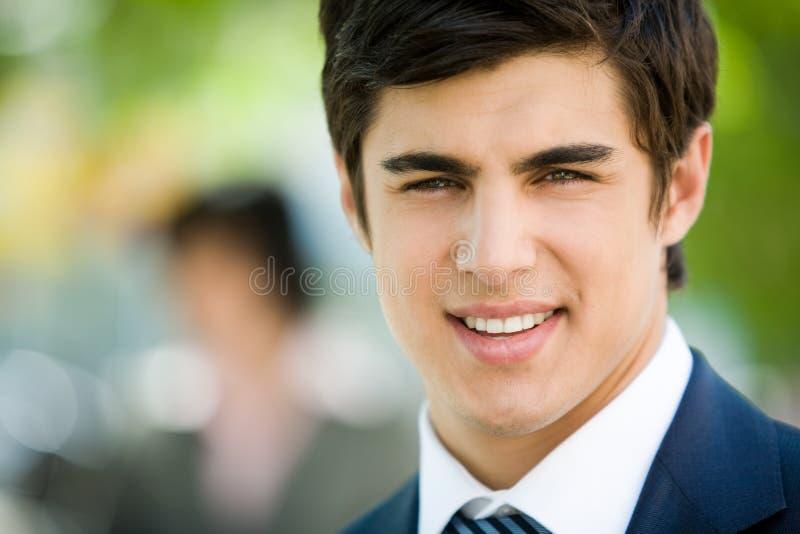 Face do homem de negócios fotos de stock royalty free