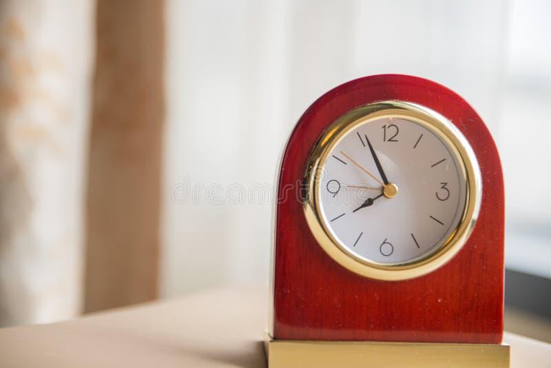 Face do relógio, macro imagem de stock