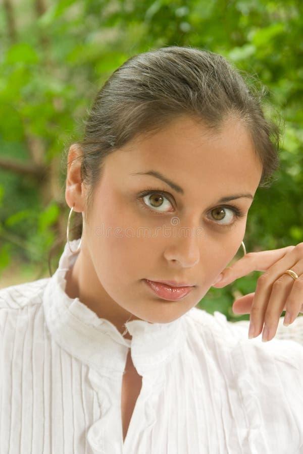 Face do retrato 7 da beleza fotos de stock